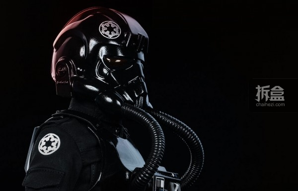 sideshow-TIE Fighter Pilot Sixth (2)