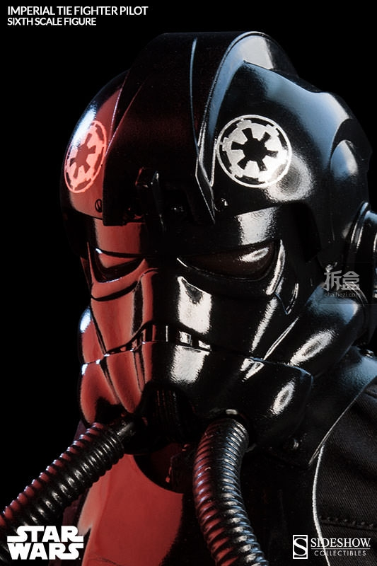 sideshow-TIE Fighter Pilot Sixth (4)