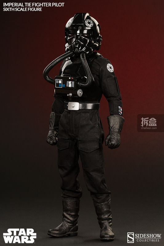 sideshow-TIE Fighter Pilot Sixth (5)
