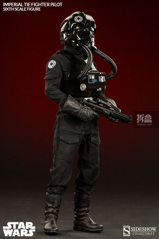 sideshow-TIE Fighter Pilot Sixth (6)
