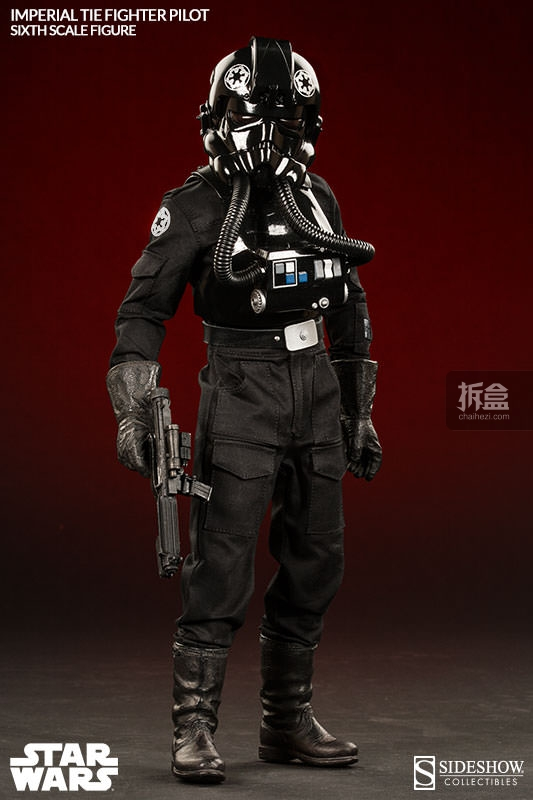sideshow-TIE Fighter Pilot Sixth (7)