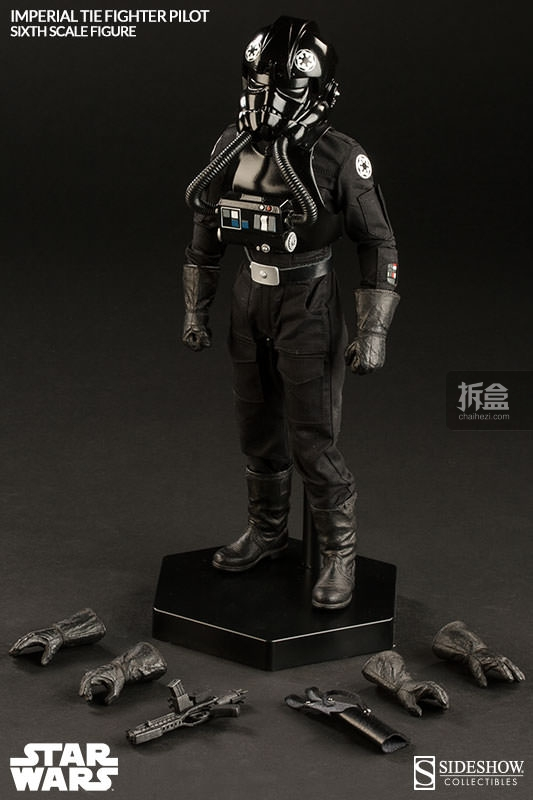 sideshow-TIE Fighter Pilot Sixth (8)
