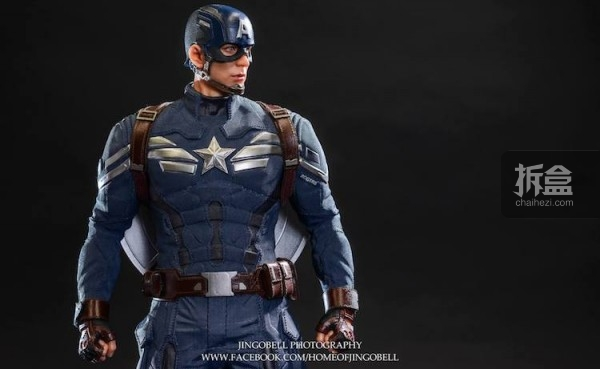 King Arts Captain America Power Charger Statue-Jingobell-003
