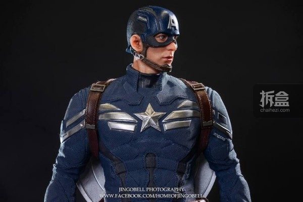 King Arts Captain America Power Charger Statue-Jingobell-004