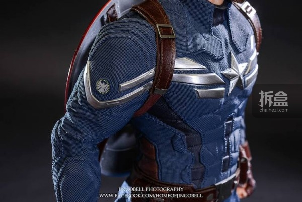 King Arts Captain America Power Charger Statue-Jingobell-007