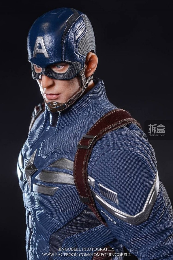 King Arts Captain America Power Charger Statue-Jingobell-015