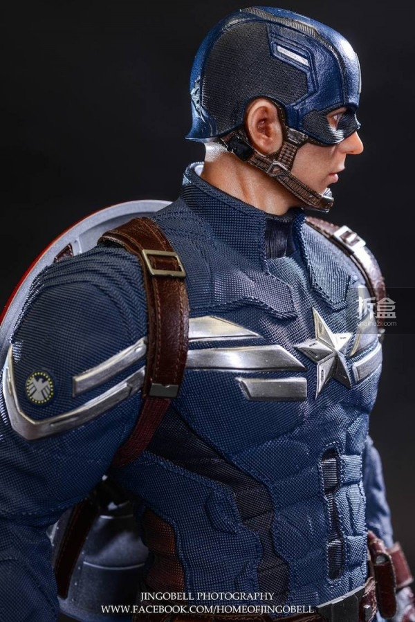 King Arts Captain America Power Charger Statue-Jingobell-018