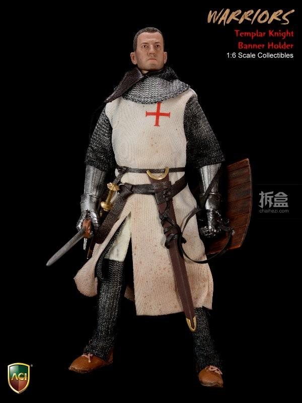 ACI24C-Templar Knight Banner Holder (1)