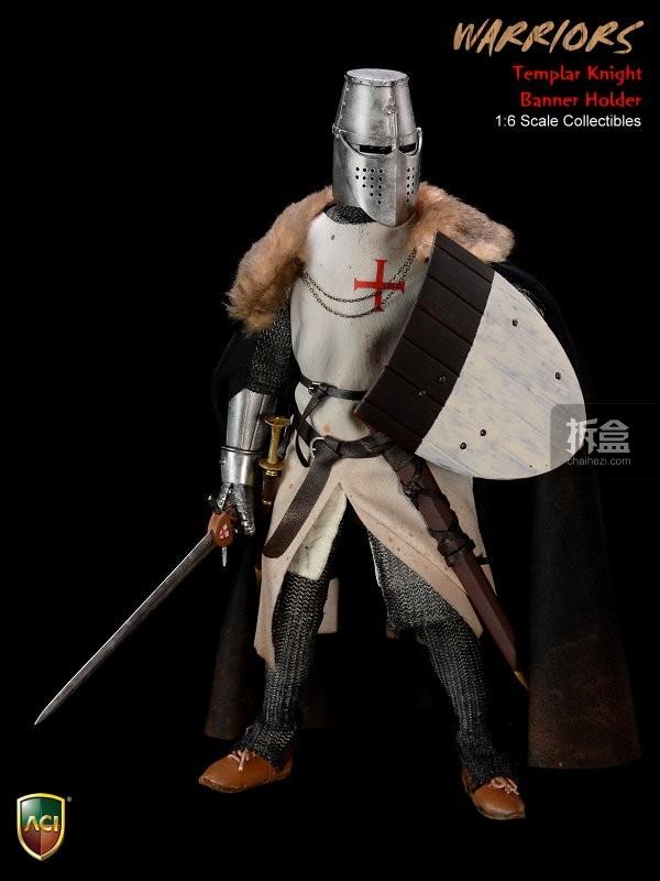 ACI24C-Templar Knight Banner Holder (12)