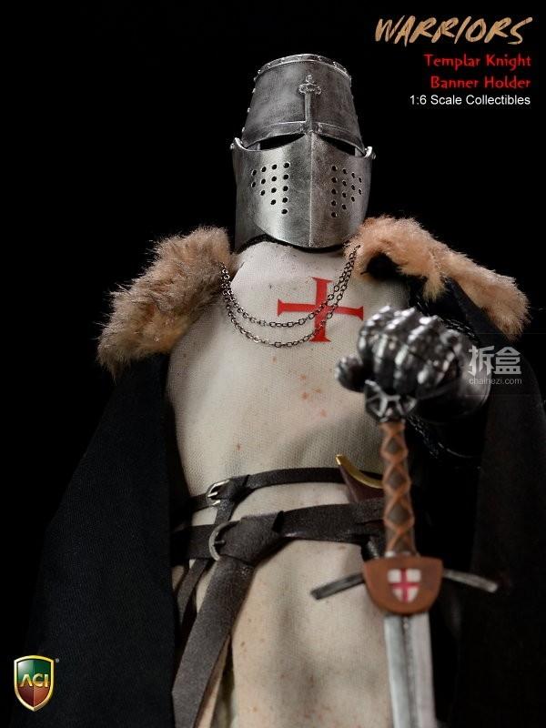 ACI24C-Templar Knight Banner Holder (14)