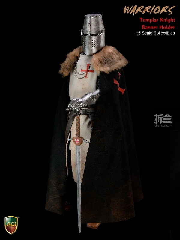 ACI24C-Templar Knight Banner Holder (15)