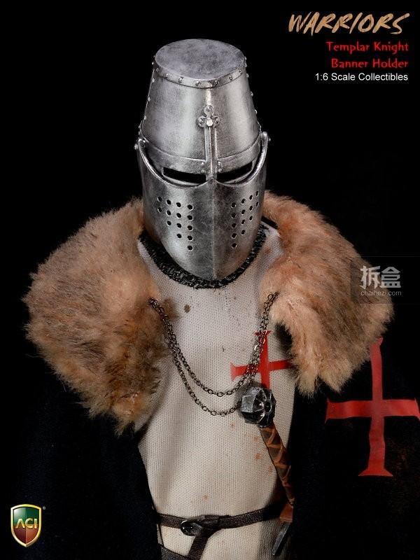 ACI24C-Templar Knight Banner Holder (17)