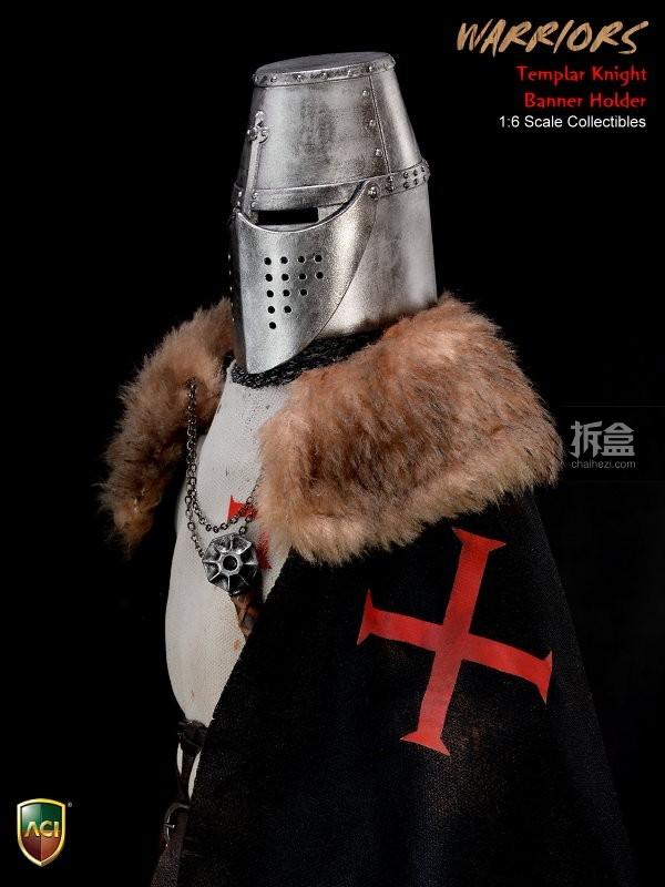 ACI24C-Templar Knight Banner Holder (19)