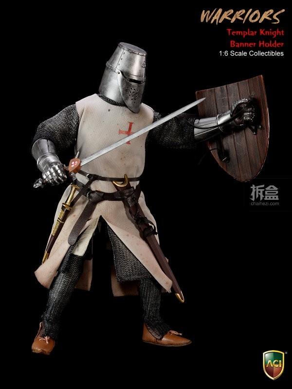 ACI24C-Templar Knight Banner Holder (2)