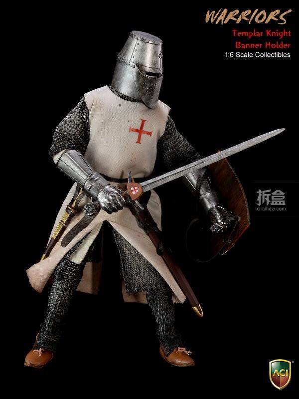 ACI24C-Templar Knight Banner Holder (4)