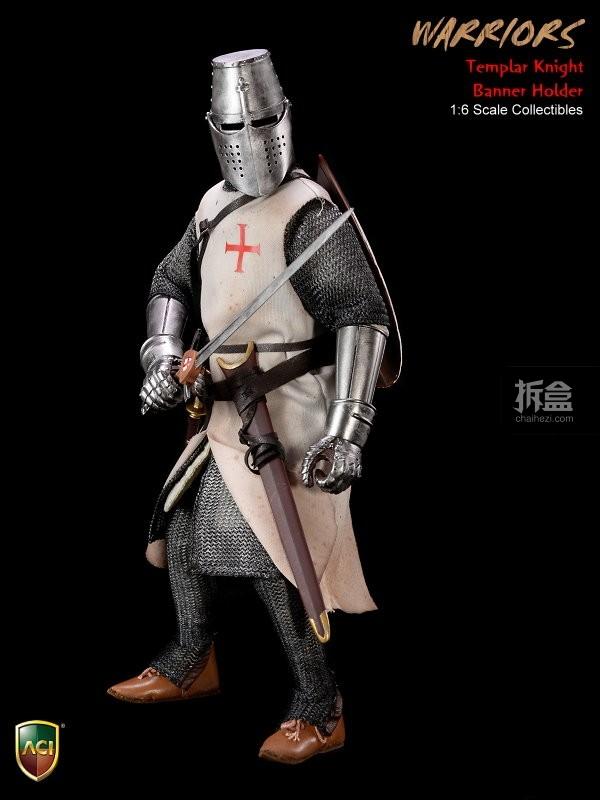 ACI24C-Templar Knight Banner Holder (5)