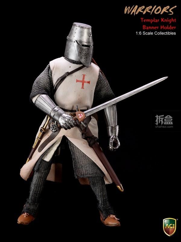 ACI24C-Templar Knight Banner Holder (6)
