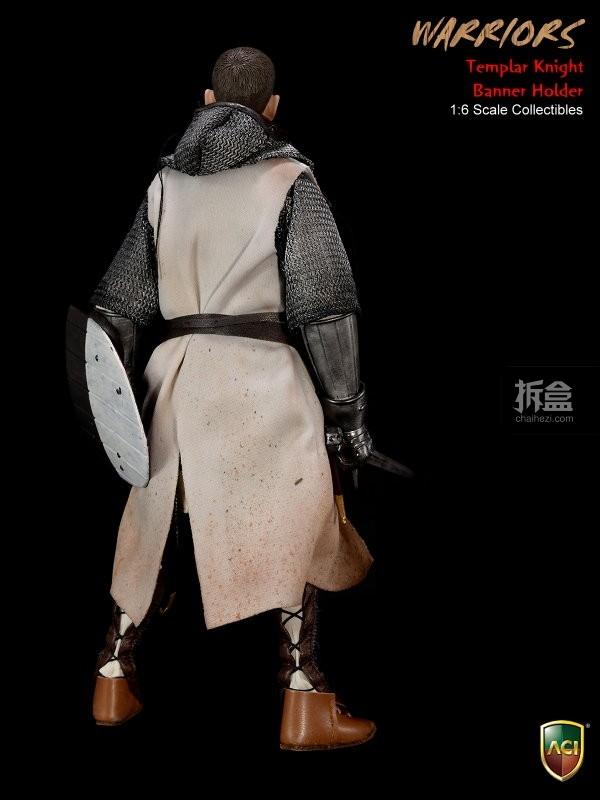 ACI24C-Templar Knight Banner Holder