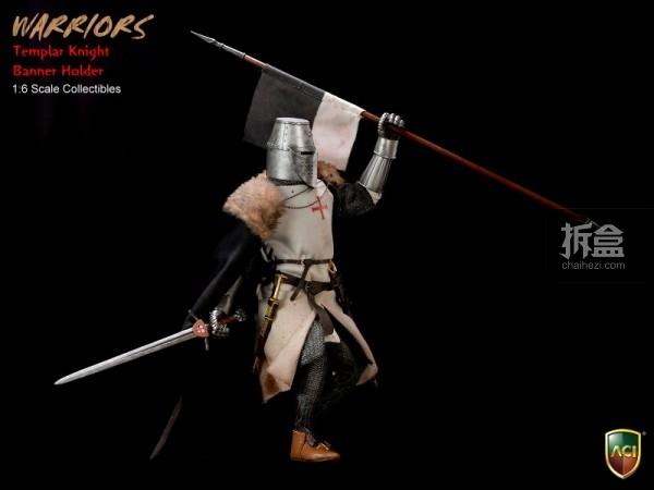 ACI24C-Templar Knight Banner Holder (7)