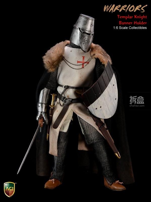 ACI24C-Templar Knight Banner Holder (9)
