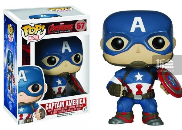 FUNKO POP-MARVEL Series Avengers Age of Ultron (2)