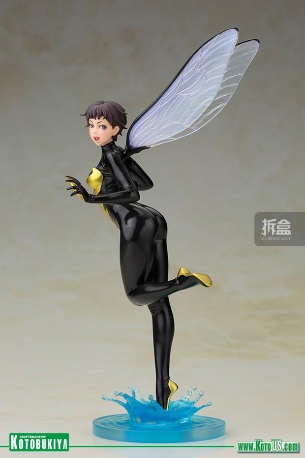 kotobukiya-MARVEL COMICS WASP BISHOUJO STATUE (3)