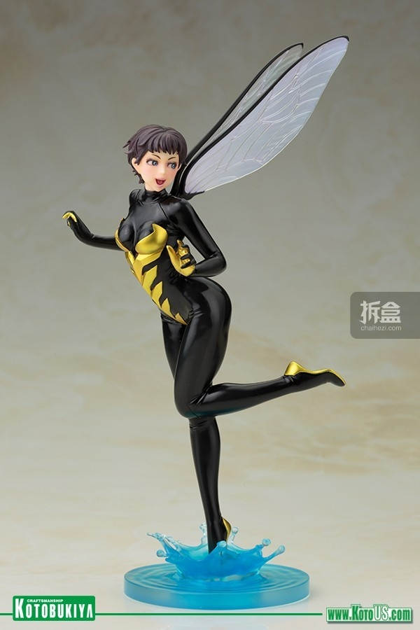 kotobukiya-MARVEL COMICS WASP BISHOUJO STATUE (4)