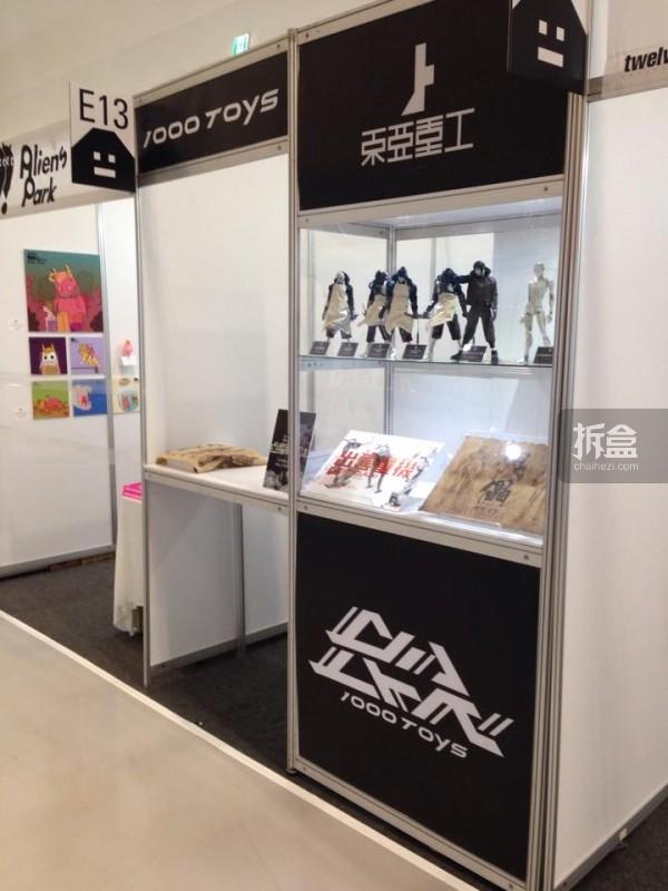早前在韩国Art Toy Culturede的展位