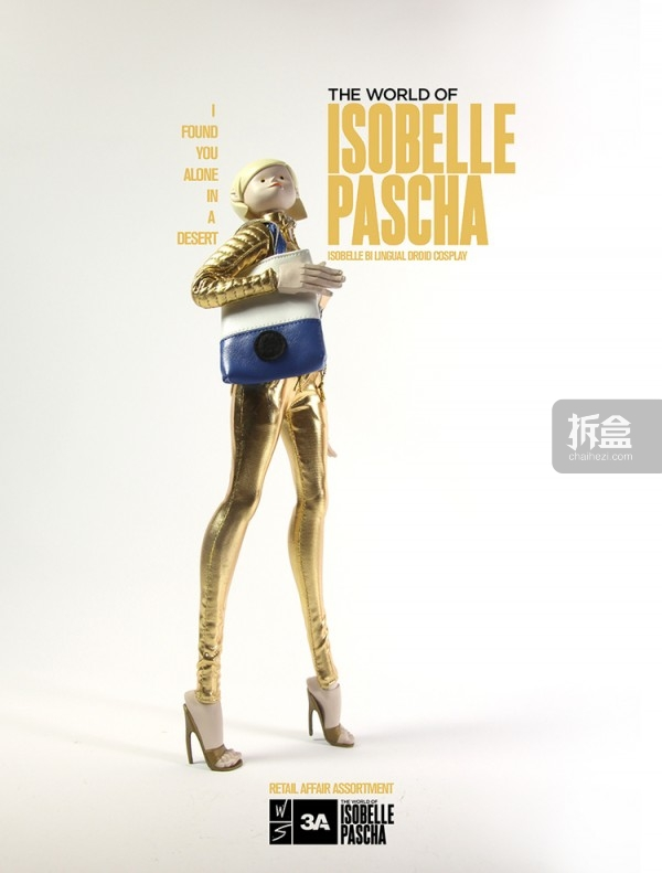 Isobelle Bi Lingual Droid Cosplay