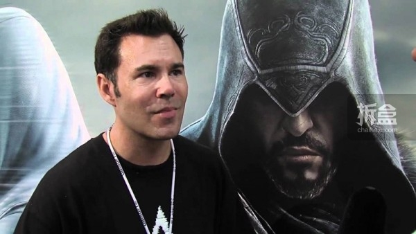 Brent Ashe在2011年美国游戏展接受参访