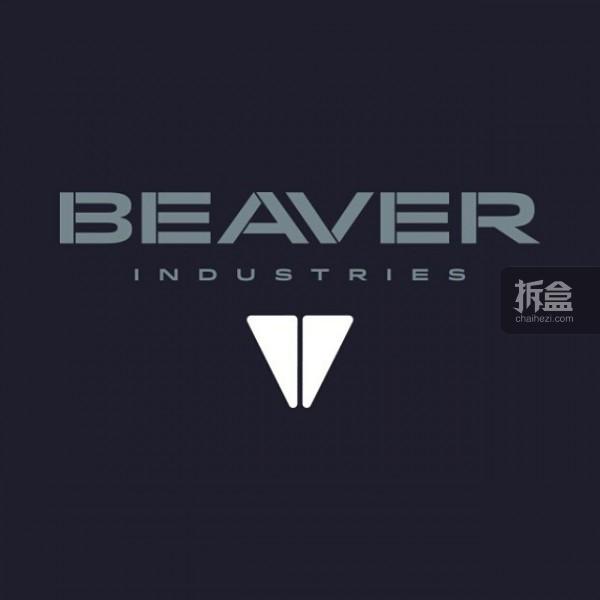 3A TOYS新系列,由女设计师Crystal推出的BEAVER系列,标识设计由Brent操刀