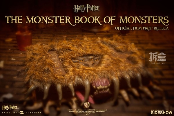 Insight Collectibles-The Monster Book of Monsters