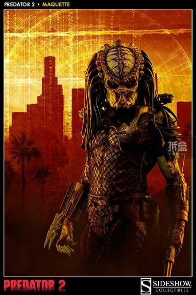 Sideshow-Predator 2-MAQUETTE (2)