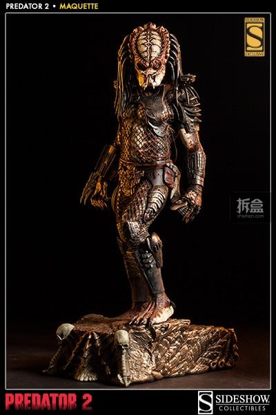 Sideshow-Predator 2-MAQUETTE