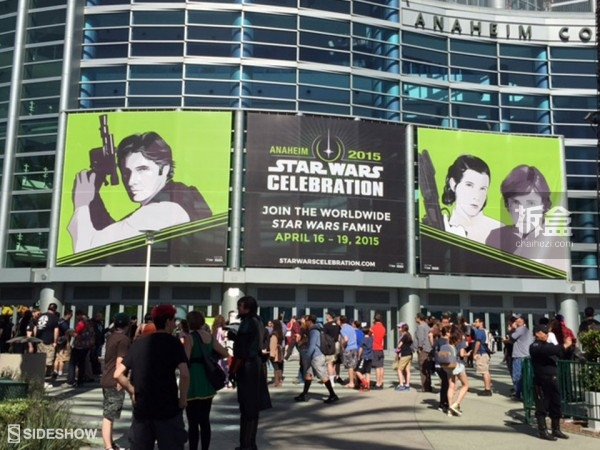 Sideshow Star Wars Celebration 2015 Booth (2)