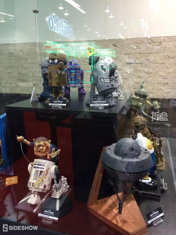 Sideshow Star Wars Celebration 2015 Booth (27)