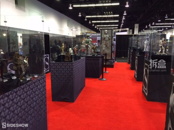 Sideshow Star Wars Celebration 2015 Booth (3)