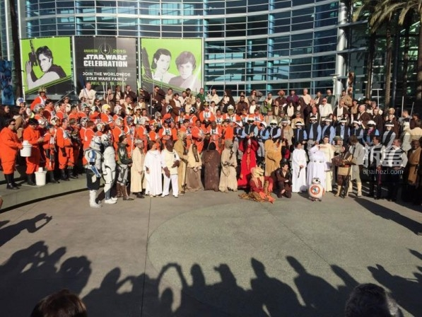 Sideshow Star Wars Celebration 2015 Booth