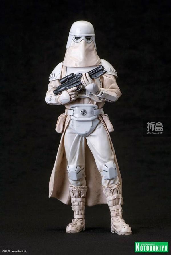 kotobukiya-Imperial Snowtrooper-artfx-2P (4)