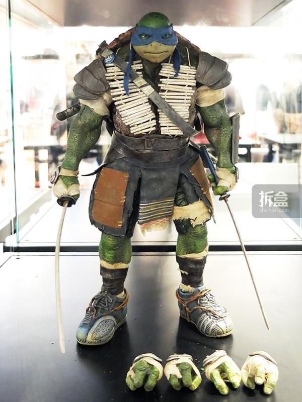 「忍者神龟」1:6可动人偶:李奥纳多(Leonardo)