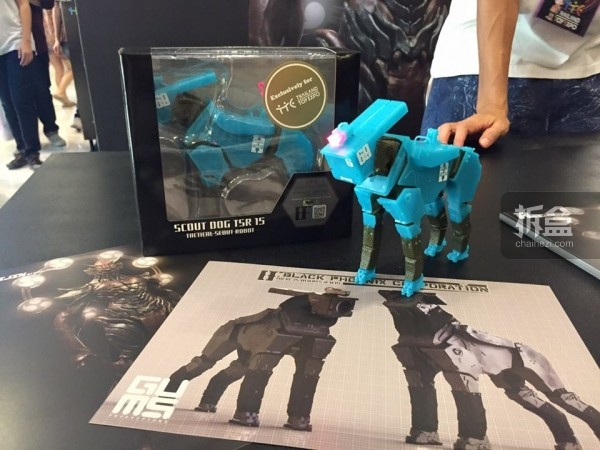 Scout Dog TSR-15 Rescue Version (TTE exclusive)  泰国玩具展会场限定夜光版