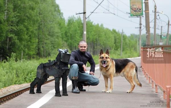 侦察犬设计概念-真实比例