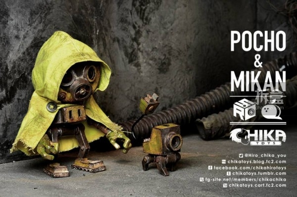 POCHO&MIKAN(机器人+电子狗)