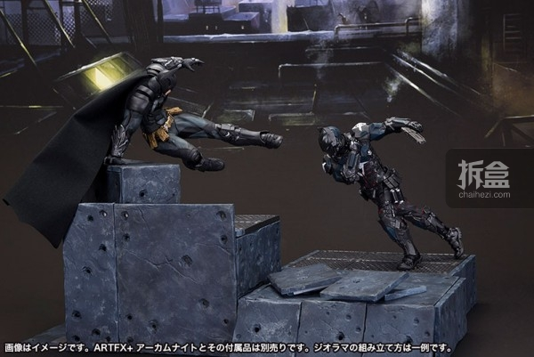 kotobukiya-Arkham Knight-artfx-batman (30)