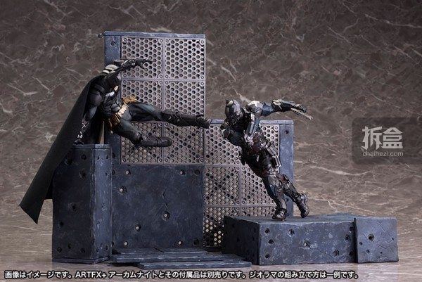 kotobukiya-Arkham Knight-artfx-batman (37)