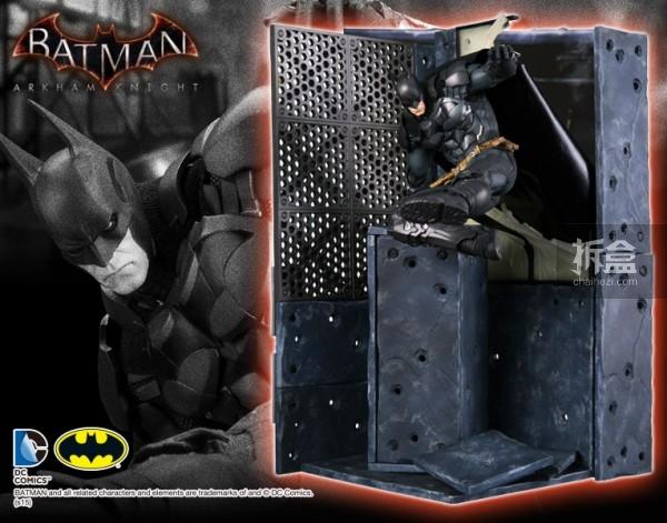 kotobukiya-Arkham Knight-artfx-batman