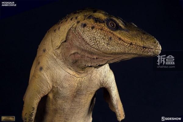 sideshow-Mosasaur Amber (7)