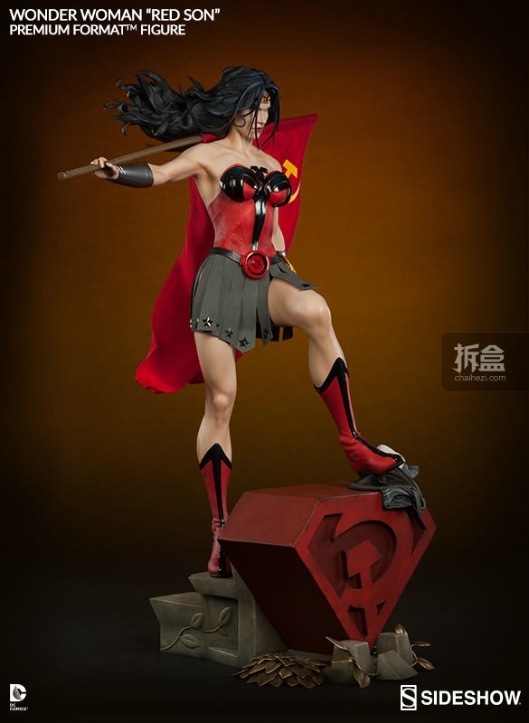 sideshow-Wonder Woman-Red Son-PF(6)