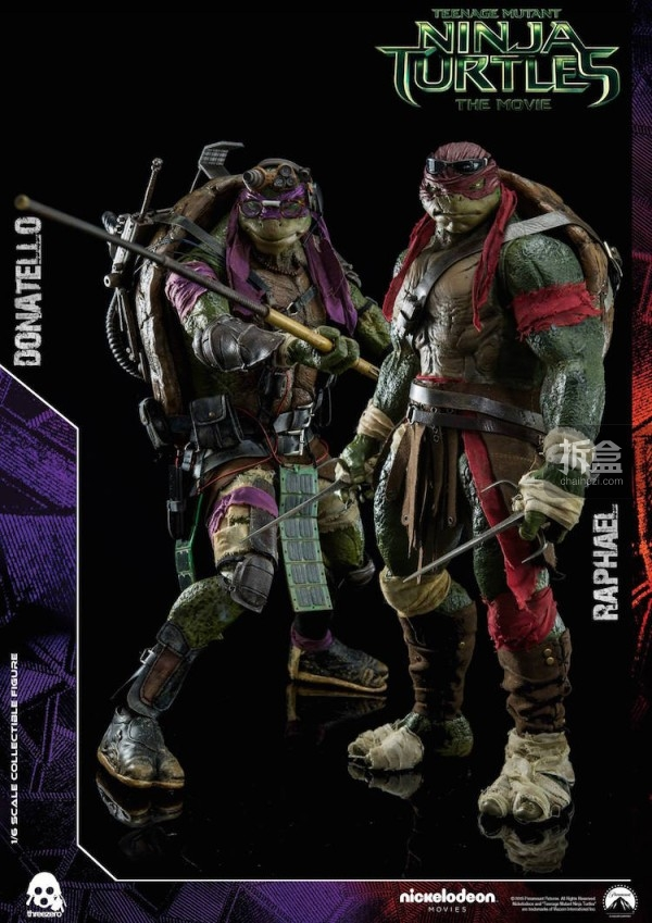 threezero-TMNT Raphael and Donatello-009