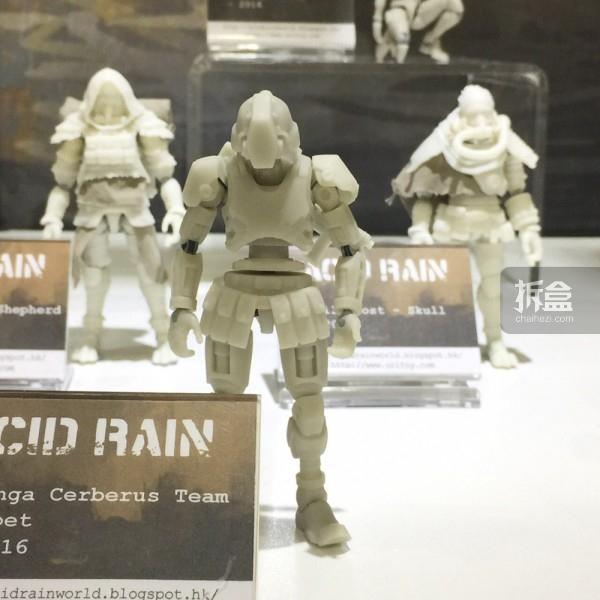 新兵人系列:Omanga Cerberus Team - Puppet 后面两款:Soil Ghost - Shepherd, Skull